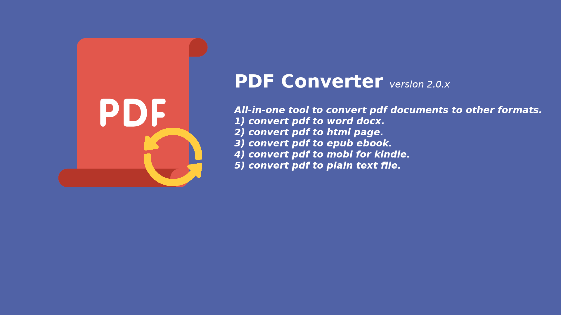 Edit PDF Files With PDF Conversion Software - Software